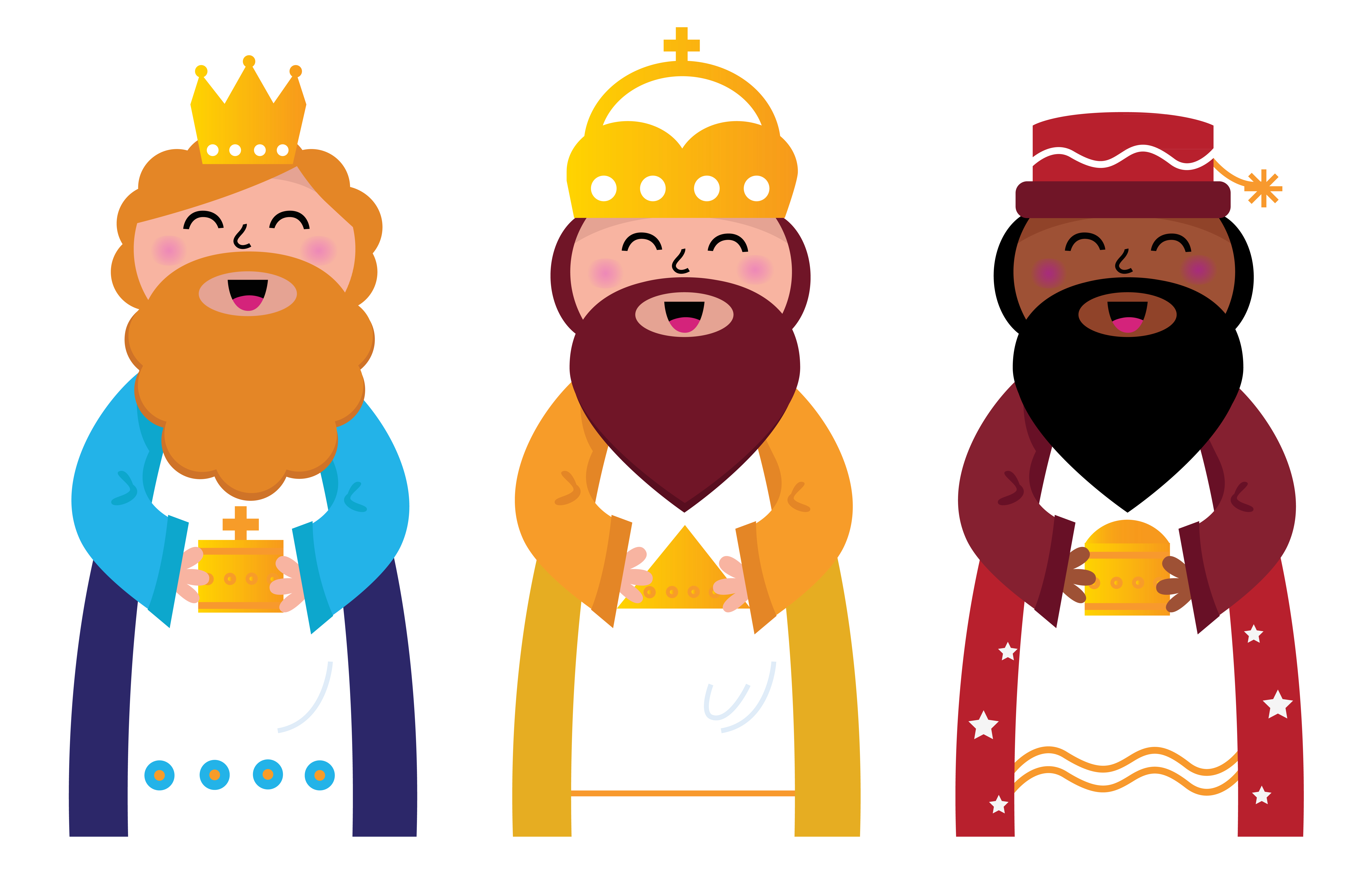 los 60 reyes magos el pulgar de nintendo three wise men clipart for cricut three wise men clip art